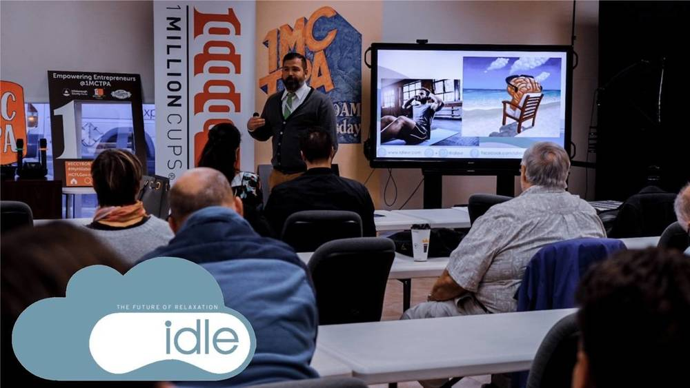 Display idle vr presentation pic